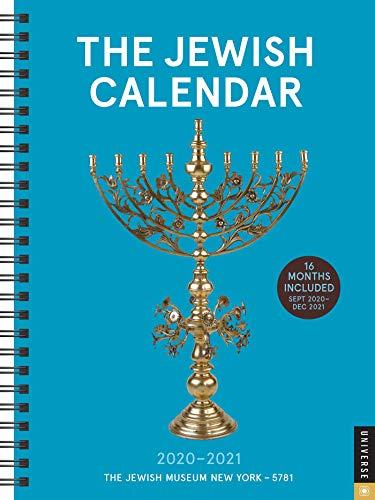 The Jewish Calendar 2020-2021 Calendar: Jewish Year 5781