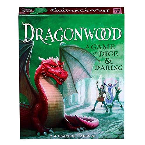 NXW Dragonwood - EIN Spiel voller Glück und Wagemut - Kartenspiel für Freunde und Familie - für Kinder ab 8 Jahren EIN Spiel mit Würfeln und gewagtem Brettspiel - Party