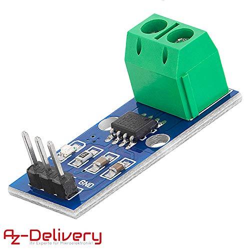 AZDelivery ACS712 20A Ampere Stromsensor Range Modul Current Sensor für Arduino Bascom