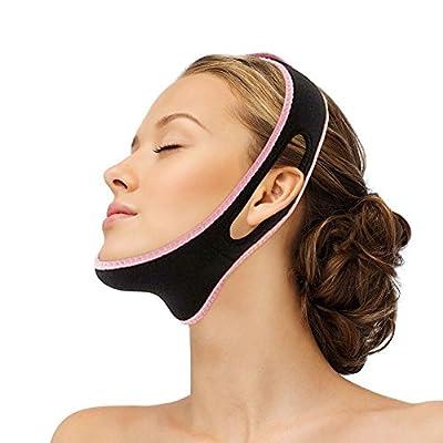 TEEROVA Facial Slimming Double Chin Cheek Band Strap Mask V Face Shaper Sleeping Massage by Pepecare