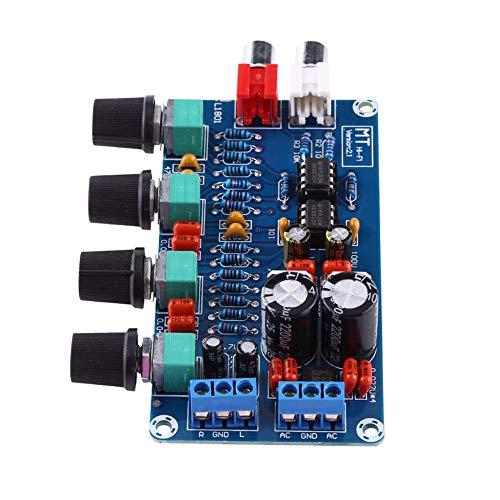 Placa amplificadora, preamplificador de ruido pequeño OP-AMP, placa de control de volumen, preamplificador de control de volumen HIFI para control de volumen, etc.