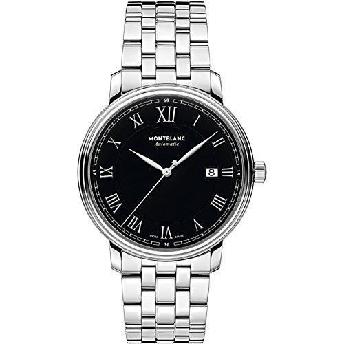Montblanc Tradition Herren-Armbanduhr 40mm Armband Edelstahl Automatik 116483