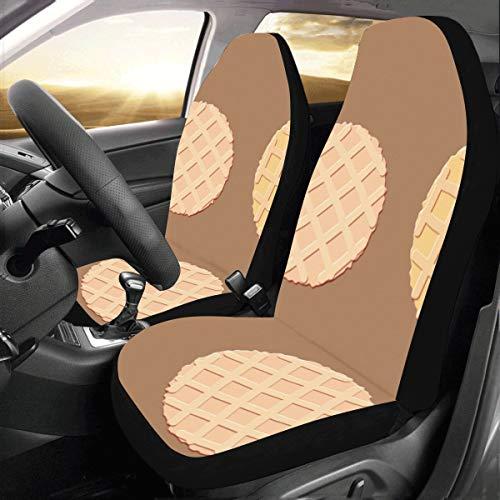 Kekse Unterschiedliche Form Benutzerdefinierte Neue Universal Fit Auto Drive Autositzbezüge Schutz Für Frauen Automobil Jeep Lkw Suv Fahrzeug Full Set Zubehör Für Erwachsene Baby (set Von 2 Vorne)