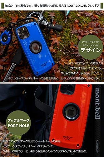 【ROOTCO.】[iPhone11専用]耐衝撃GravityShockResistCasePro.(カーキ/マット)