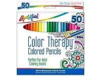 Liquimark Colored Pencil Set Color Therapy 50pc