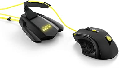 Sharkoon Shark Zone M51 Laser Gaming Mouse with MB10 Bungee Hub Bundle (000SKSZM51PB)