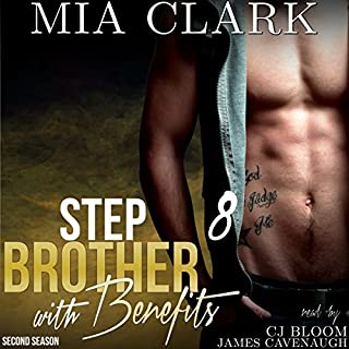 Stepbrother with Benefits 8 (Second Season) audiobook cover art
