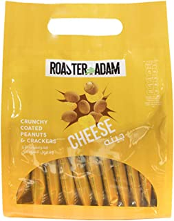 Roaster Adam Crunchy Coated Peanuts and Crackers, Cheese Flavor, 12 x 13 gm