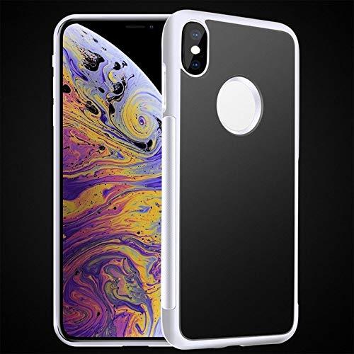 XUEYAN521 Telefono Caso Custodia per Telefono Anti-gravità per iPhone X 8 7 6S Plus Cornice in TPU antigravità Magica Copertura per aspirazione Nano Custodia Auto assorbita-per iPhone 6s Plus-Bianco