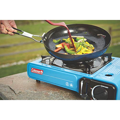 51MZxrWaSnL - Coleman Portable Butane Stove with Carrying Case