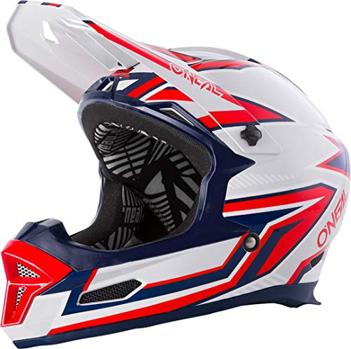 O'NEAL Fury Helmet Rapid Silver/red XS (53/54cm)