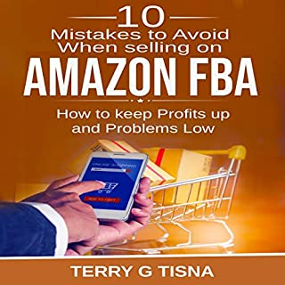 10 Mistakes to Avoid When Selling on Amazon FBA audiobook cover art