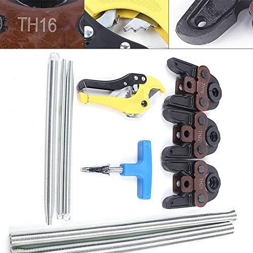 Presszangen Wartung Rohrpresszange Rohrschere + TH16 TH20 TH26 Presszangen Pressbacken + Biegefedern Werkzeug für Verbundrohr