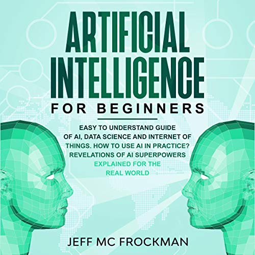 Artificial Intelligence for Beginners audiobook cover art