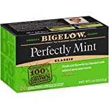 Bigelow Perfectly Mint (Formerly Plantation Mint) Tea Bags 20 count (Pack of 6), 120 Tea Bags Total (Packaging may vary, tea name transitioning)