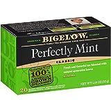 Bigelow Plantation Mint Black Tea Bags 20-Count Boxes (Pack of 6), 120 Tea Bags Total
