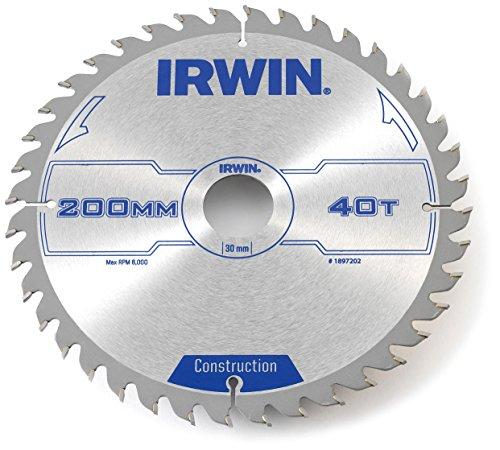 Irwin - Disco sierra circular 200mm/40t