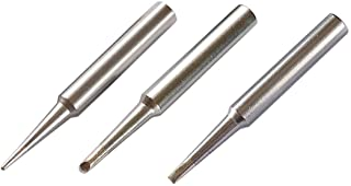 ShineNow Quality ST Soldering iron Tips 3pcs Combo for Weller WLC100 SP40NKUS SP40NUS SP40L SP40N WP25 WP35 SPG40
