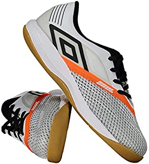 5cec9522e708e Chuteira Umbro Soul Pro Futsal Branca e Preta
