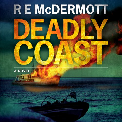 Deadly Coast audiobook cover art