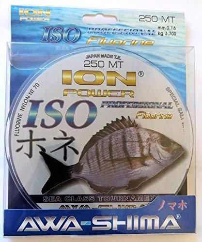 Awa Shima Hilo de pescar Ion Power Professional Fluorine 0,16 mm, carga...