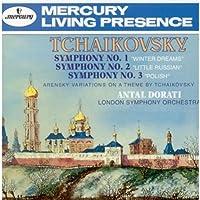 Tchaikovsky : Symphonies Nos. 1, 2 & 3