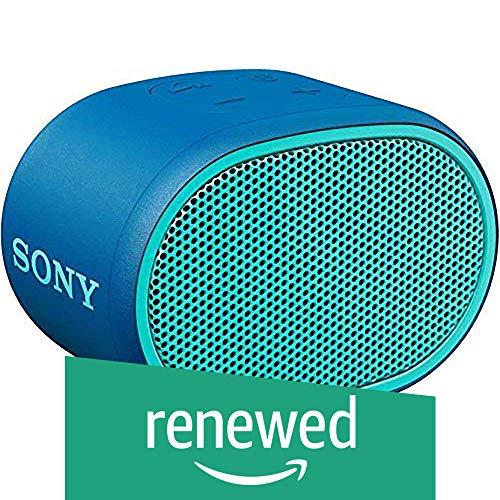(Renewed) Sony Wireless Speaker SRS-XB01 (Blue)