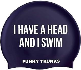 Funky Trunks GET A HEAD Silicone Swim Cap