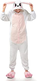 MizHome White Rabbit Cosplay Pajamas Anime Costume Homewear Lounge Wear S-XL