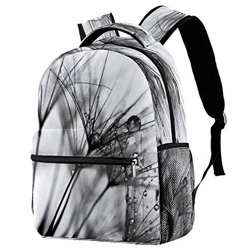 Mochila de estudio mochila escolar bolsa de libro mochila casual para viajes, estampado 7, Talla única, Mochila de a diario