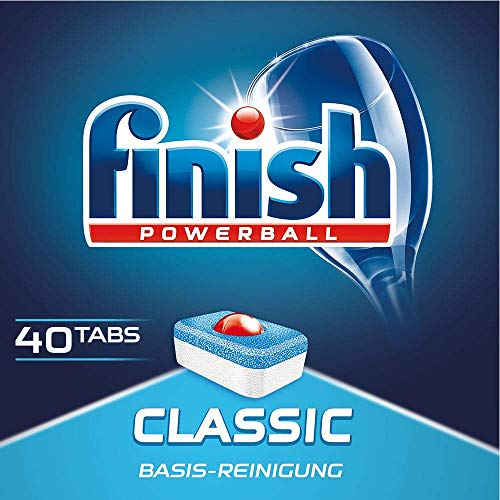 Finish Classic 40 Tabs 3 er Pack (3 x 40)