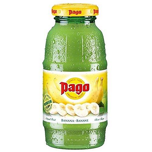 Pago banana cl.20 x 24 bottiglie in vetro succo di frutta