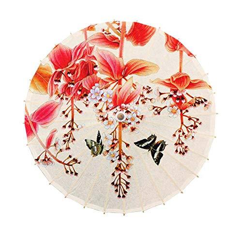 Black Temptation Parapluie de décoration de Plafond de Restaurant d'hôtel de Papier à Huile de Parasol, G05