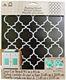 Easy to Use Re-usable and durable Finely detailed backgrounds Great for personalizing Fun for the whole family Mylar/Plastic Stencil