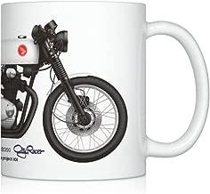 GarageProject101 CB350 cafe racer motorcycle illustration Coffee Mug
