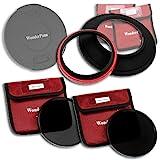 WonderPana 145 Esencial ND - Adaptador de Filtros 145mm, Tapa de Lente, Filtros de Densidad Neutra ND16 y ND32 para los Lentes 14mm Varios de Fotogramas Completos (es decir, Samyang, Rokinon, Vivitar, Bower, Pro-Optic, Bell & Howell)