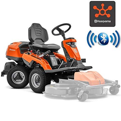 Husqvarna Trattorino rasaerba tagliaerba Rider R 316TX AWD idrostatico Tecnologia Bluetooth Solo Macchina