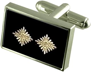 Board Game Snakes Ladders Gold-tone Square Cufflinks with Select Gifts Pouch