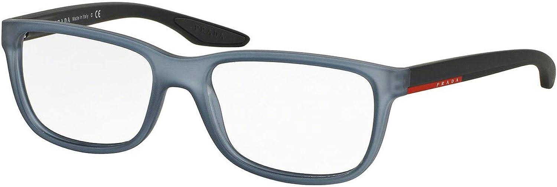 Prada PS02GV Eyeglass Frames UB91O1-54Light Grey Rubber