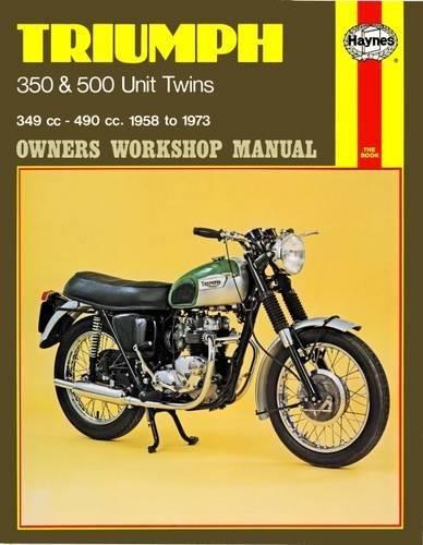 Triumph 350 and 500 Unit Twins Owners Workshop Manual, No. 137: '58-'73 (Haynes Manuals)