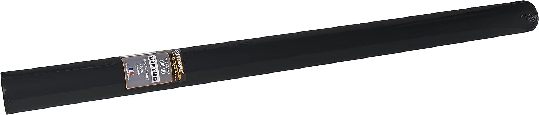 Pro Mantel – Ref R581521I – Mantel desechable en Rollo de 15 m de Largo x 1,20 m de Ancho – Color Negro – No Tejido Airlaid, Material Efecto Textil con una caída Cerca del Tejido.