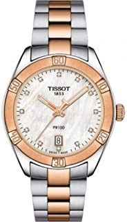 Tissot Stainless Steel Silver Watch For Women - T101.910.22.116