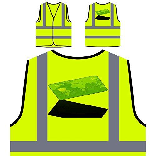 Zahlung Per Kreditkarte Personalisierte High Visibility Gelbe Sicherheitsjacke Weste p872v