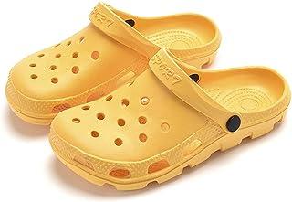 Mengain Mens Womens Garden Clogs Beach Sandals Slippers Hollow Summer Outdoor Casual Hospital Nurse Slip On Clogs Mules Sh...