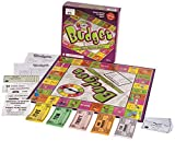 purple box with board game and pretend money