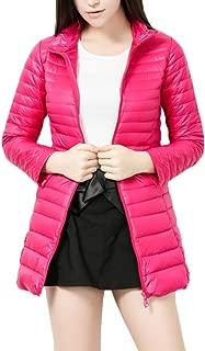 Mochoose Women's Ultra Light Weight Outdoor Packable Coat Outwear Long Puffer Down Jacket