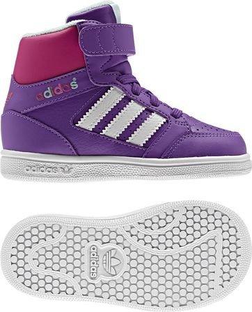 Adidas G95991 Pro Play CF 1 - Zapatillas de running para niños, color morado 25. 25 EU