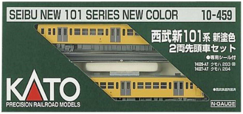 Kato 10-459 Seibu New 101 Series New Paining 2-Car Set, Powered