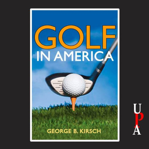 Golf in America audiobook cover art