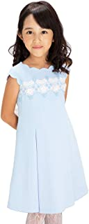 [CHOPIN(ショパン)] 子供 ドレス 発表会 フォーマル 8896-2305 スカラップドレス 100 110 120 130cm